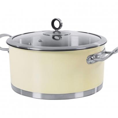 24cm Casserole Dish - Cream