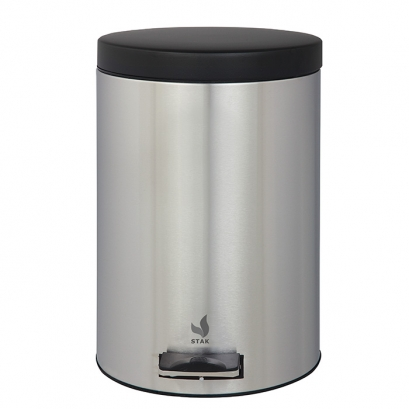 99 Simple Value 5 Litre Stainless Steel Pedal Bin
